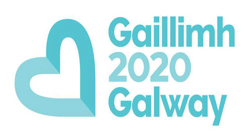 Minister Sean Canney congratulates Galway 2020 Team