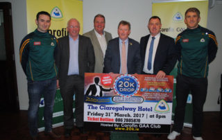 Launch of Corofin GAA Club 20K Drop Fundraiser