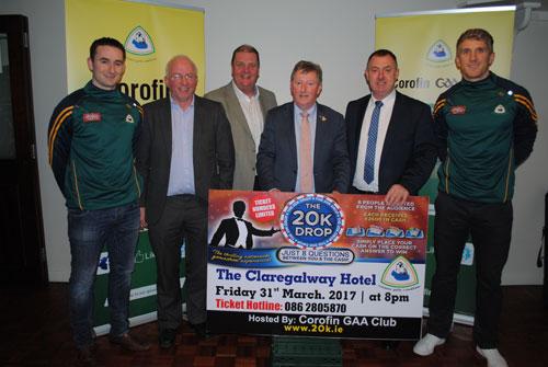 Launch of Corofin GAA Club 20K Drop Fundraiser