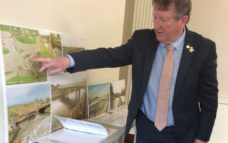 Minister Canney visits Rathfarnham Castle to mark 185 years of the OPW