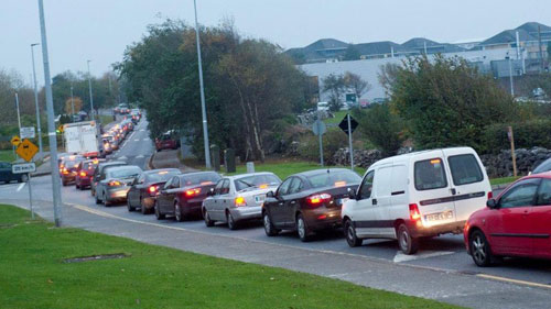 Parkmore Traffic congestion
