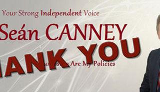 Sean Canney TD Thank You