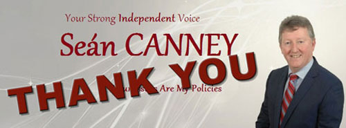 Sean Canney TD Thank You