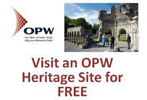 U12s go free at OPW sites