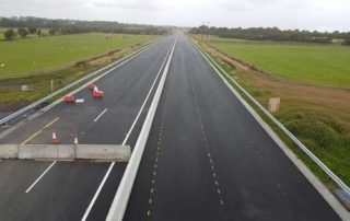 early opening of M17 / M18 motorway