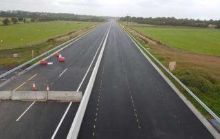 early opening of M17 / M18 motorway