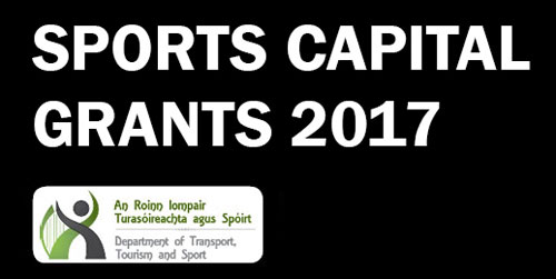 Canney welcomes Sports Capital Grants 2017