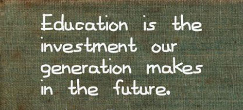 investment in Education in Budget