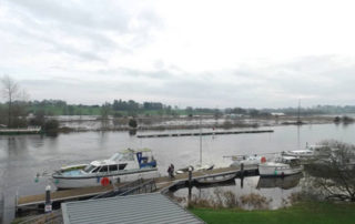 Portumna flood works