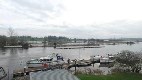Portumna flood works
