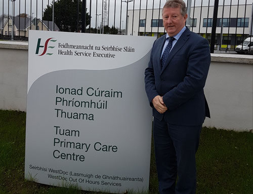 Canney Welcomes €700k Additional funding for X-Ray and Ultrasound Services for Tuam Primary Care Centre