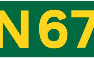 N67 Ballindereen to Kinvara