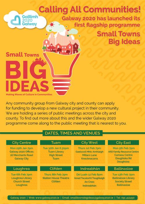Galway 2020 Small Towns Bid Ideas Programme