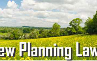 Welcoming proposed changes to planning laws