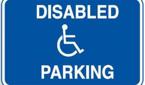 Increased fines for parking in disabled spaces