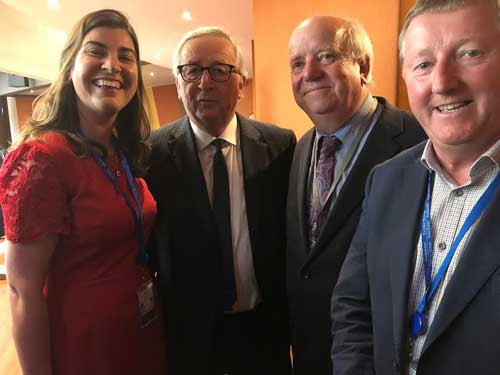 'IRELAND FIRST' SAYS Jean Claude JUNCKER