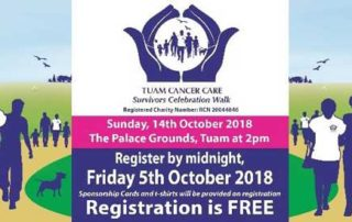 Tuam Cancer Care survivors walk 2018