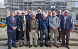 HEADFORD MEN'S SHED VISIT TO LEINSTER HOUSE