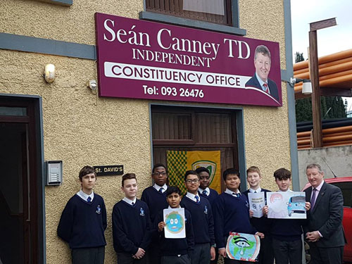 Visit by St Jarlath's College Students