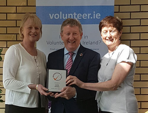 GALWAY CHARITY HONOURED AT NATIONAL VOLUNTEER CONFERENCE