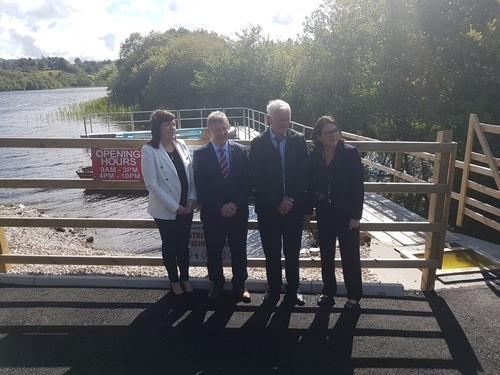 LAUNCHING NEW ANGLING FACILITIES IN DONEGAL