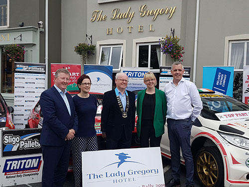 LADY GREGORY HOTEL GALWAY SUMMER RALLY