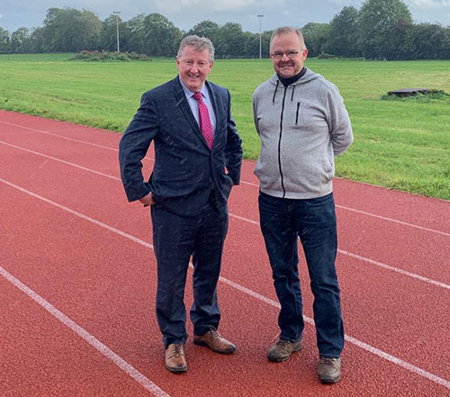 GREAT STRIDES FOR CRAUGHWELL ATHLETIC CLUB