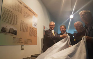 GIANT SNAIL FOSSIL UNVEILED IN TUAM