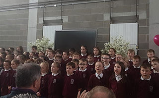 Monivea National School - Official Opening