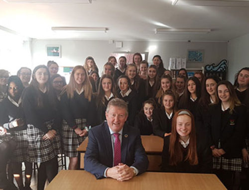 VISIT TO PRESENTATION COLLEGE, TUAM
