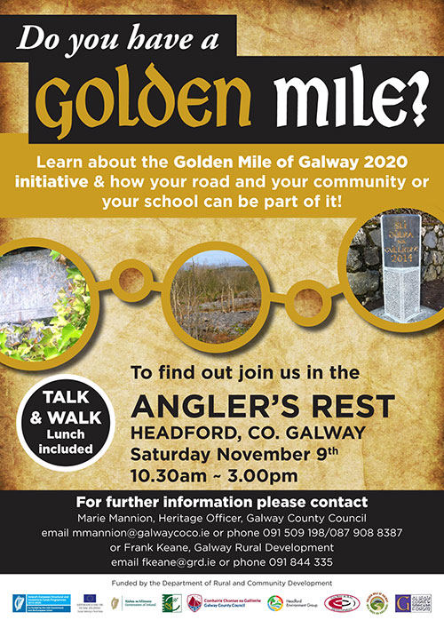 GALWAY GOLDEN MILE INFORMATION EVENT