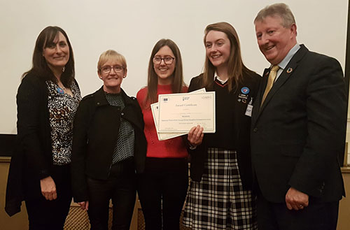 TUAM STUDENT WINS NATIONAL COMPETITION!