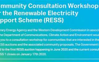 RENEWABLE ENERGY SUPPORT SCHEME WORKSHOP IN BALLINASLOE