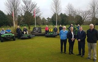 NEW EQUIPMENT FOR TUAM GOLF CLUB