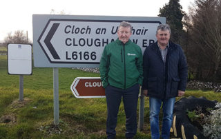 DANGEROUS JUNCTION AT CLOUGHANOVER MUST BE MADE SAFE