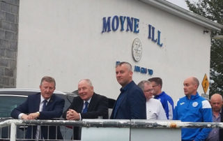 Leader Funding for Moyne Villa F.C. Headford