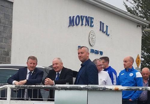 Leader Funding for Moyne Villa F.C. Headford