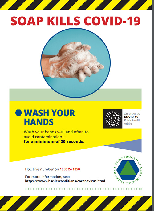 The importance of handwashing explained by Department of Health