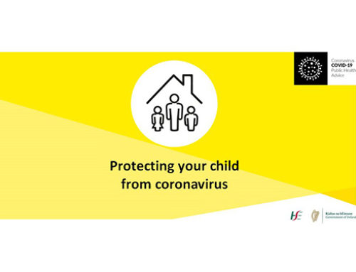 Advice from the HSE for parents on how to protect their children