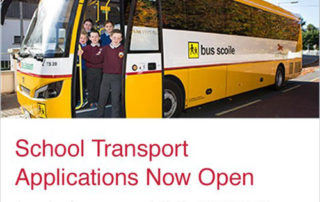 DEADLINE LOOMS FOR SCHOOL TRANSPORT APPLICATION