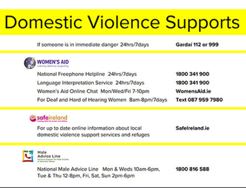 HELP FOR DOMESTIC ABUSE