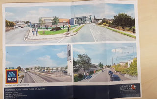 DECISION WELCOMED TO GRANT PLANNING PERMISSION FOR ALDI STORE IN TUAM – CANNEY
