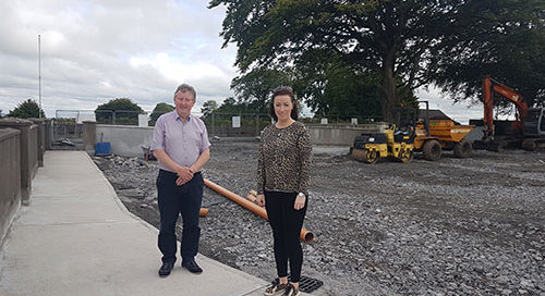 CANNEY – Development works progressing at Brownsgrove National School