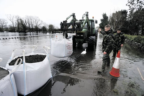 Welcomes progress on South Galway / Gort Lowlands Flood Relief Scheme Feasibility Report