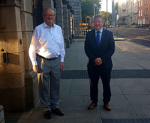 Meeting with Vintners President to discuss re-opening of rural pubs