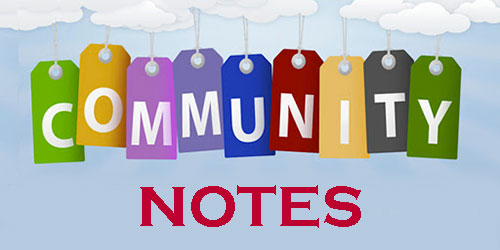 Community Notes August 2020 for Sean Canney TD Galway East