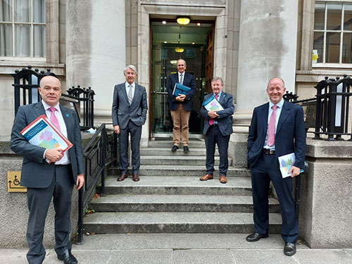 Case for Regional Ireland presented to Ministers Donohoe and McGrath ahead of Budget