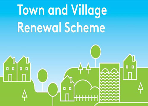 Sean Canney Independent TD has received confirmation that 5 towns and villages in Galway have received funding under the Town & Village Renewal Scheme.