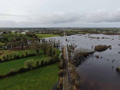 Welcomes further progress on Gort Lowlands Flood Relief Scheme