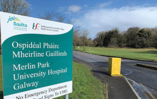 Long awaited Orthopaedic Unit under construction at Merlin Park